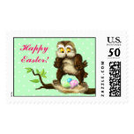 Happy Easter owl Postage