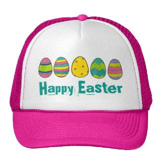 Happy Easter Painted Egg Hunt Eggs Hat