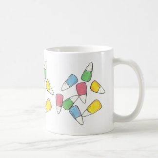 Happy Easter Pastel Candy Corn Candycorn Mug