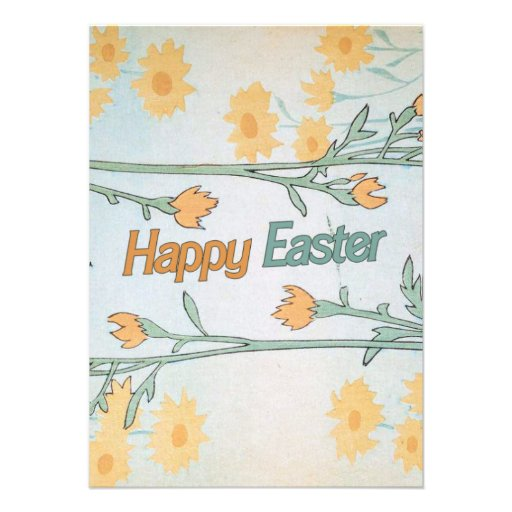 Happy Easter Personalized Invitation