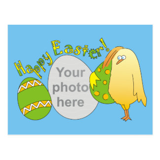 Happy Easter! Personalized Photo Postcards