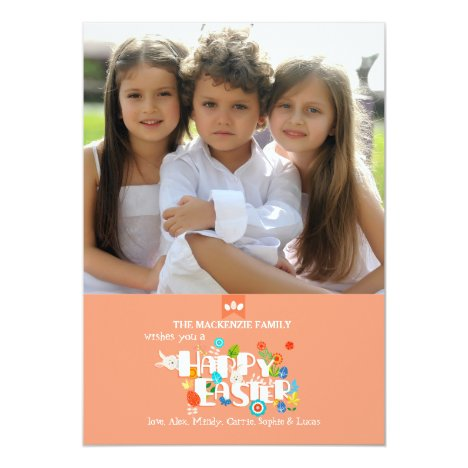 Happy Easter Photo Card
