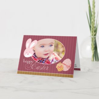 Happy Easter Photo Greeting Card card