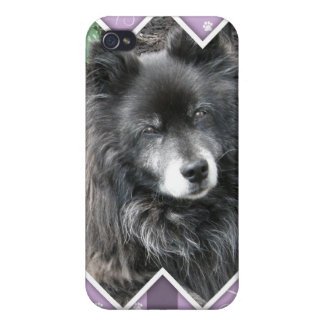Happy Easter Photo-Paw Prints Cases For iPhone 4