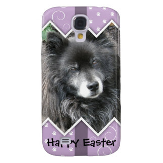 Happy Easter Photo-Paw Prints Galaxy S4 Cases