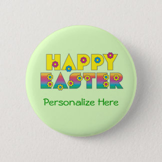 Happy Easter Pinback Button
