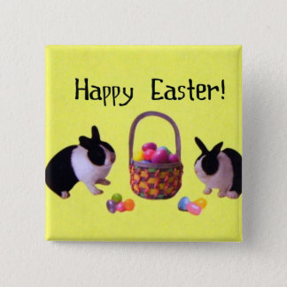 Happy Easter! Pinback Button