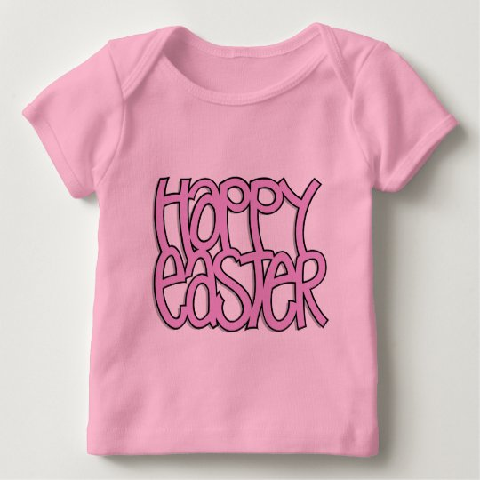 Happy Easter pink Infant T-shirt