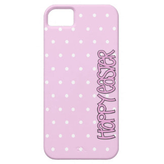 Happy Easter pink iPhone 5 Barely There Case