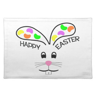HAPPY EASTER CLOTH PLACEMAT