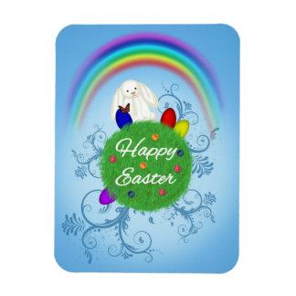 Happy Easter Planet - Flexible Magnet