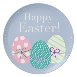Happy Easter Plates