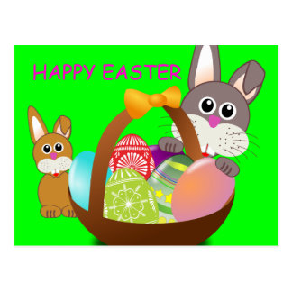HAPPY EASTER POST CARDS