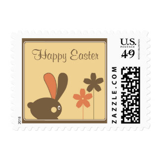 Happy Easter Postage Stamp