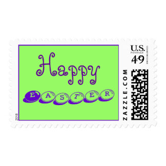 Happy Easter Postage Stamps