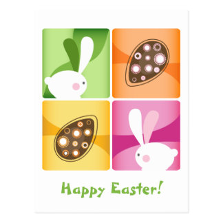 Happy Easter Post Card