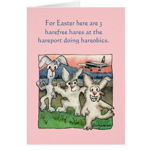 Happy Easter Puns with Buns Funny Cards