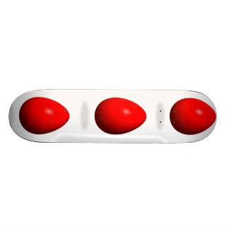 Happy Easter - Red Egg Skateboard