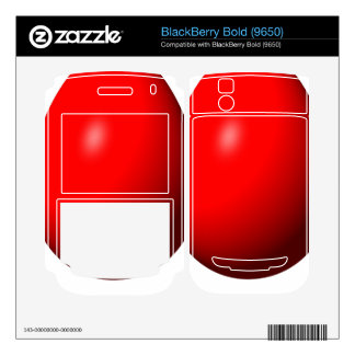 Happy Easter - Red Egg BlackBerry Bold Decals