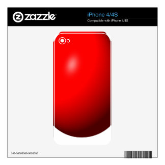 Happy Easter - Red Egg Skins For The iPhone 4S