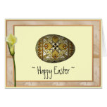 Happy Easter Russian Painted Egg Cards