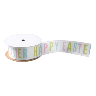 Happy Easter | Satin ribbon