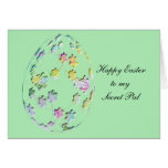 Happy Easter Secret Pal Greeting Card