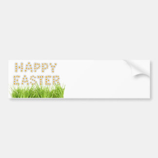 Happy Easter Sign Bumper Sticker