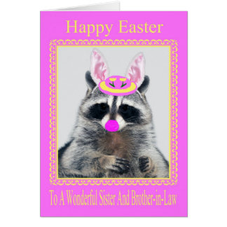 Happy Easter Sister/Brother-in-Law Greeting Card