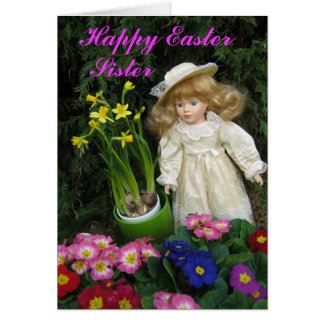 Happy Easter Sister Card