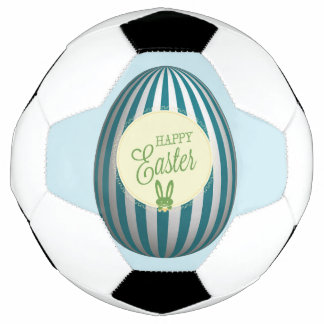 Happy Easter Soccer Ball