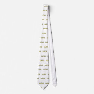 happy easter spring yellow mint green simple neck tie