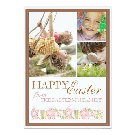 Happy Easter Springtime Photo Card