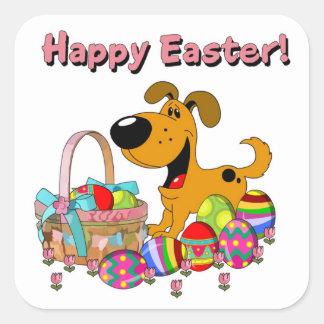 Happy Easter! Square Sticker
