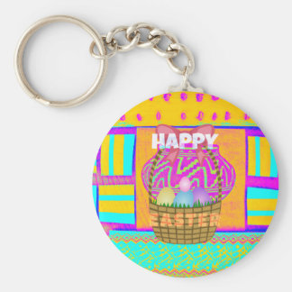 Happy Easter. Stay Blessed as Always Keychain