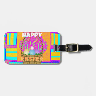 Happy Easter. Stay Blessed as Always Luggage Tag