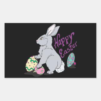 Happy Easter Rectangular Stickers