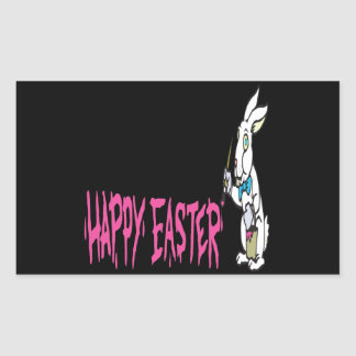 Happy Easter Rectangle Stickers