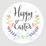 Happy Easter Stickers