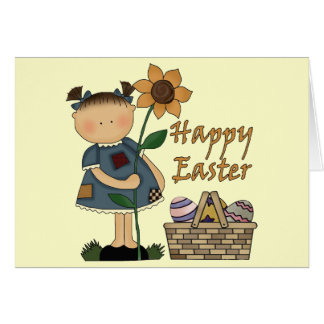 Happy Easter T shirts and Gifts Greeting Card