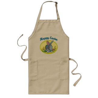 Happy Easter T shirts and Gifts Long Apron