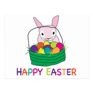 Happy Easter T-shirts and Gifts Postcard