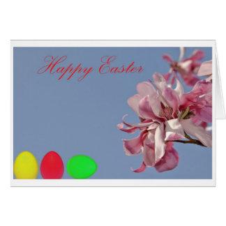 Happy Easter Tarjeta Pequeña