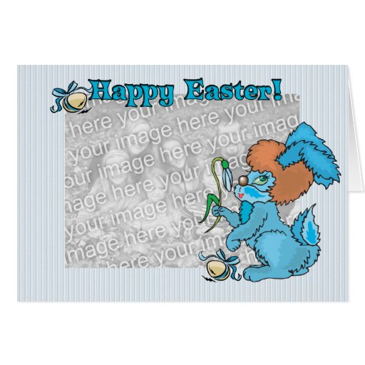 Happy Easter Template Greeting Cards