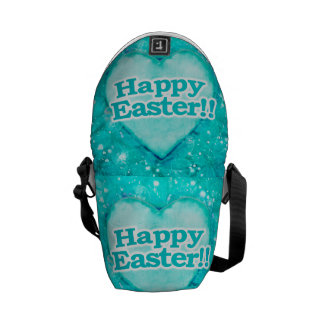 Happy Easter Theme Courier Bag