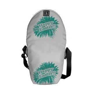 Happy Easter Theme Design Courier Bag