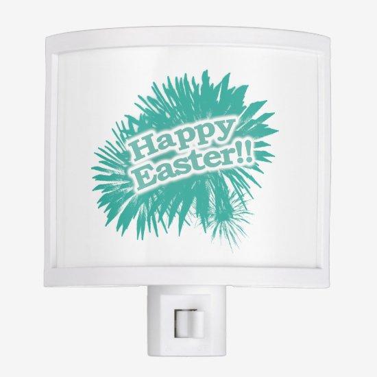 Happy Easter Theme Design Night Light