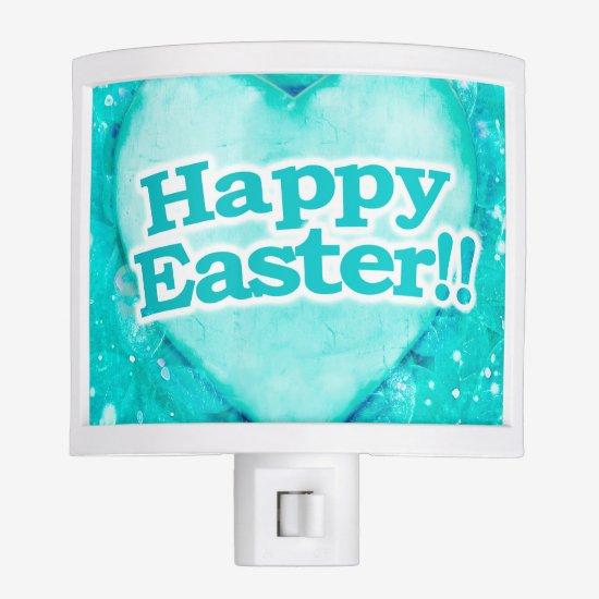 Happy Easter Theme Night Light