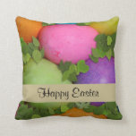 Happy Easter Throw Pillows