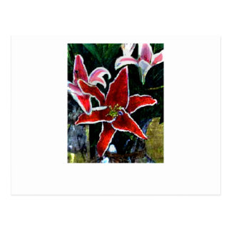 Happy Easter Tiger Lily The MUSEUM Zazzle Gifts Post Card